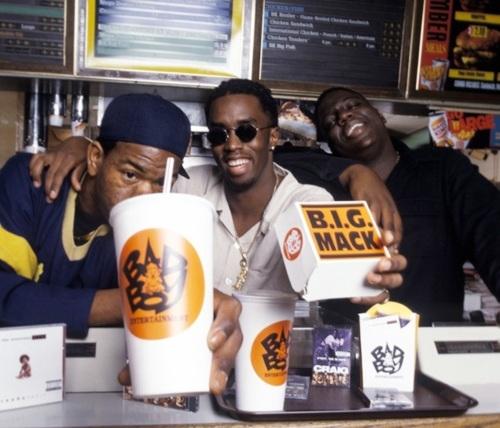 Biggie, Craig Mack, and P  Diddy freestyles n few various songs